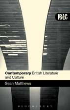 Contemporary British Literature and Culture