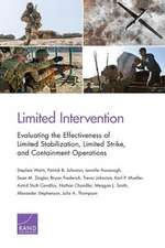 Limited Intervention