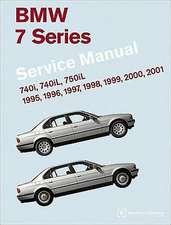 BMW 7 Series (E38) Service Manual:  740i, 740il, 750il