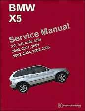 BMW X5 (E53) Service Manual:  3.0i, 4.4i, 4.6is, 4.8is
