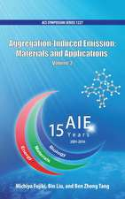 Aggregation-Induced Emission: Materials and Applications Volume 2