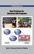 Best Practices for Chemistry REU Programs