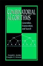 Combinatorial Algorithms:  Generation, Enumberation, and Search