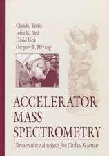 Accelerator Mass Spectrometry