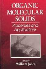 Organic Molecular Solids:  Properties & Applications