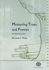 Measuring Trees and Forests