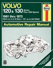 Volvo 120 and 130 Series and 1800 Sports, 1961-1973: Volvo 120 & 130 Series (& P1800) (61 - 73) up to M