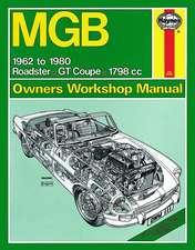 Hayn-MGB 1692-1980: MGB (62 - 80) up to W