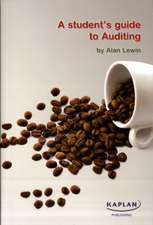 A Student's Guide to Auditing