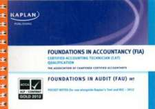 FAU (INT) Foundations in Audit - Pocket Notes