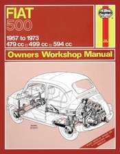 Fiat 500 (57 - 73) Haynes Repair Manual