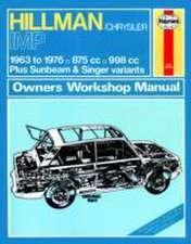 Hillman Imp Owner's Workshop Manual