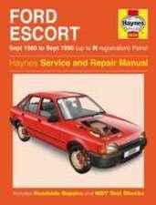 Ford Escort (Petrol) Service and Repair Manual