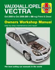 Vauxhall/Opel Vectra Petrol & Diesel (Oct 05 - Oct 08) Haynes Repair Manual