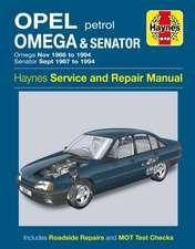 Opel Omega & Senator Service and Repair Manual