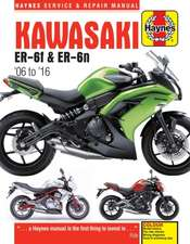 Kawasaki ER-6f & ER-6n (06 - 16) Haynes Repair Manual
