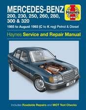 Mercedes-Benz 124 Series Service and Repair Manual