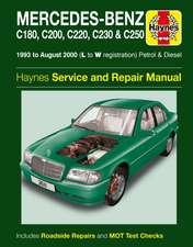 Mercedes Benz C-Class Petrol And Diesel Service An