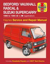 Bedford/Vauxhall Rascal Service and Repair Manual