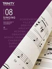 Trinity College London Singing Grade 8 High Voice 2018-2021