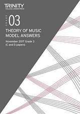 Theory Model Answer Papers Grade 3 Nov 2017
