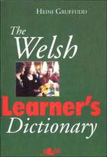 Welsh Learners Dictionary:  50 Favourites \ 50 O'r Goreuon