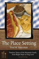 The Place Setting:  Second Serving