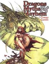 Dragons Myths & Mayhem Volume One:  The Clyde Caldwell Sketchbook