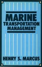 Marine Transportation Management