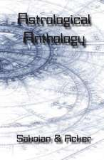 Astrological Anthology