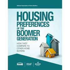 Housing Preferences of the Boomer Generation