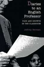 Diaries to an English Professo