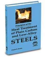 Brooks, C:  Principles of the Heat Treatment Plain Carbon an