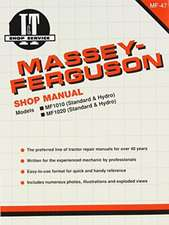 Massey Ferguson Shop Manual Models 1010 & 1020