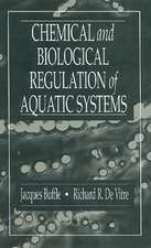 Chemical and Biological Regulation of Aquatic Systems
