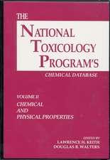 The National Toxicology Program's Chemical Database, Volume II