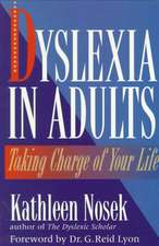 Dyslexia in Adults
