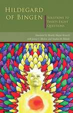 Hildegard of Bingen:  Solutions to Thirty-Eight Questions