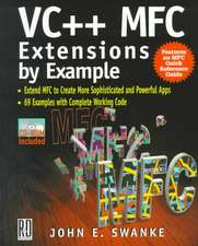VC++ MFC Extensions by Example:  Windows 98 / Windows 2000