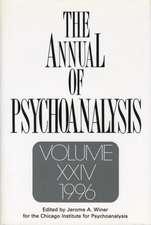 The Annual of Psychoanalysis, V. 24