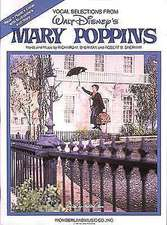 Mary Poppins:  Baritone/Bass Book Only