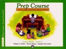 Alfred Prep Course Lesson Book Level C