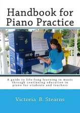 Handbook for Piano Practice
