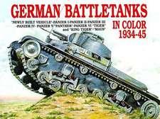 German Battle Tanks in Color