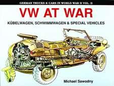 German Trucks & Cars in WWII Vol.II:  VW at War Book I Kbelwagen/Schwimmwagen