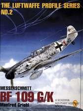 The Luftwaffe Profile Series:  Messerschmitt Bf 109 G/K