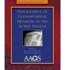 Management of Glenohumeral Arthritis in the Active Patient:  Patella Instability and Arthrosis