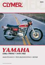 Clymer Yamaha 650cc Twins 70-82