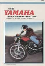 Yamaha Xs750 & 850 Triples 77-81