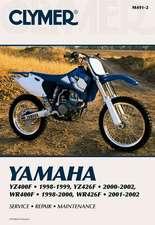 Clymer Yamaha YZ400F 1998-1999, YZ426F 2000-2002, WR400F 1998-2000 & WR426F 2001-2002